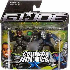 G.I. Joe Combat Heroes Wallace Ripcord Weems and Destro 2 Pack Mini Figures