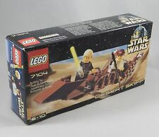 LEGO Star Wars 7104 Desert Skiff Set New In Box Factory Sealed NIB