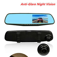 Car 120° Dashboard Video Camera 4.3'' 1080P HD DVR Cam Anti-Glare Night Vision