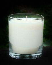 40hr WHITE DIAMONDS Ladies Perfume Triple Scented Orgainc SOY Glass Jar Candle
