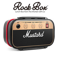 Rock Box - Guitar Amplifier Bento Lunch Box - Music Fan Novelty Packed Lunch Bag