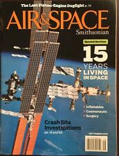 Air And Space Smithsonian 15 Years Living In Space Sept 2015 FREE SHIPPING