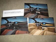 BMW 5er E60 Limousine Individual Prospekt Brochure Mappe von 2004