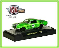 M2 Auto-Mods AM02  # 68  1968 Ford Mustang 2 + 2  14-58   1:64 S scale
