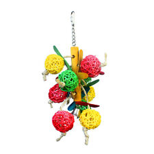 Ball Swing Bird Toy Parrot Cage Toys Cages Cockatie Lovebird Parakeet Toys New