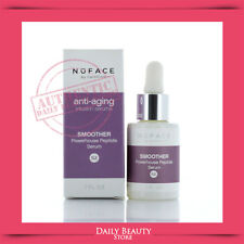 NuFace Smoother Powerhouse Peptide Serum 1oz NEW FAST SHIP