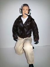 "1/4.5 ~ 1/4 Scale 15"" Tall Civilian RC Pilot Figure w/Servo Operated Moving Head"