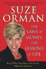 "NEW*NEVER USED* ""SUZE ORMAN~LAWS OF MONEY, LESSONS OF LIFE*FREE SHIP"