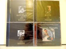 SEALED ! Lot of 4 Jazz CD s - Vaughan, Basie, FitzGerald & Holiday - Lot #3