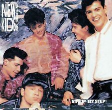 NEW KIDS ON THE BLOCK : STEP BY STEP / CD (CBS RECORDS 466686 2) - TOP-ZUSTAND