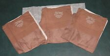 3 pair Vintage OUTSIZE FF seamed nylon stockings 11  X 33 TROPIX plus size