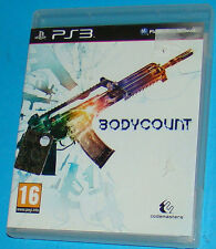 Bodycount - Sony Playstation 3 PS3 - PAL