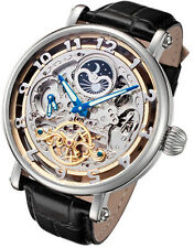 Rougois Big Skeleton Automatic Dual Time Moon Phase