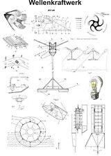 Wellenkraftwerk selbst bauen freie Energie 1305 Seiten