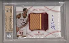 Tristan Thompson 12/13 Immaculate Patch Auto Red RC SN #04/25 BGS 9.5/10