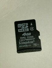 Kingston 4 GB MicroSD Card - OEM - (K4GBMC:17326)