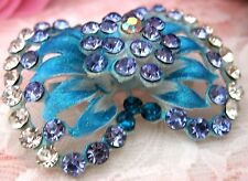 Women Crystal Bow Rhinestone Brooch new