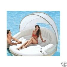 FLOATING ISLAND RAFT inflatable party boat water lake camping kids swimming pool