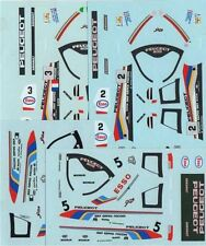 LOT DECALS 1/43 PEUGEOT 905 ENDURANCE - COLORADO  DCV016