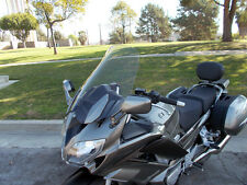 "2013 and up Yamaha FJR 1300 Clear 21"" Windshield Custom Made in USA Easy Install"