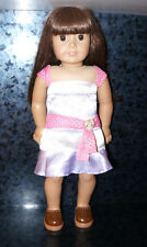 "2008 18"" AMERICAN GIRL DOLL Clothes Outfit Dress RETIRED AG Samantha Figure Toy"