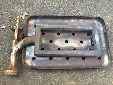 VINTAGE STOVE PARTS Chambers Antique Gas Range C Model Broiler Burner and Shield