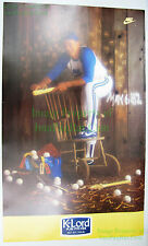 Vintage NIKE Baseball Poster K-Lord PURE PITCHER Gaylord Perry MLB SF Giants