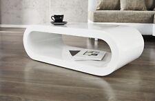 Couchtisch   RETRO   weiss 90 cm Sofatisch Stubentisch Wohnzimmertisch Tisch