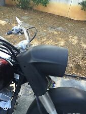 Stretched Extended Nacelle Headlight For Yamaha  Road Star Classic Custom