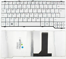 FUJITSU ESPRIMO V6515 V6535 V6545 V6555 D9510 P571 KEYBOARD UK LAYOUT WHITE F147
