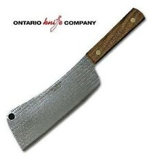 "NEW OLD HICKORY 76-7 USA MADE 7"" BLADE MEAT CLEAVER KITCHEN KNIFE 6830996"