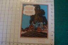 vintage J I CASE THRESHING MACHINE co CATALOG 32pgs, VERY EARLY and so cool