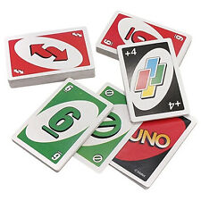 Hot Gift Standard Fun 108Pcs UNO Playing Cards Game Travel Instruction