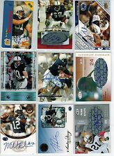 (9) PENN ST NITTANY LIONS FOOTBALL AUTO LOT IN COLLEGE UNIFORMS ALL DIFFERENT