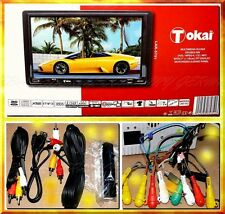 "Tokai LAR5751 Autoradio CAR DVD MPEG4 USB SD 7"" MP3 RDS Camera IN Woofer OUT"