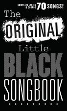 Original Little Black Songbook Rock POP Songs Lyrics Guitar Chords Music Book