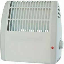 Small 450w Wall Mounted Compact Heater With Thermostat Frost Watcher - UK Plug