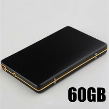 New Black 60GB Aluminum External Hard Drive 5400rpm HDD Mobile Hard Disk USB2.0