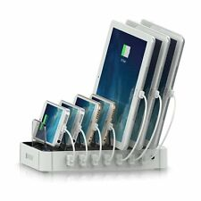 Satechi 7-Port USB Charging Station Dock for iPhone 6 Plus/6/5S/5C/5/4S, iPad S6