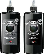 Moms Tattoo Ink Black Pearl 12 oz Set OUTLINING & SHADING Millennium Mom's Lot
