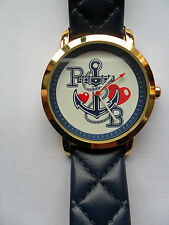 WATCH I LOVE PAULS BOUTIQUE HELLO SAILOR QUARTZ WRISTWATCH P B ANCHOR PA007BLGD