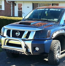 Hood Scoop For Nissan Titan UNPAINTED HS003 By MrHoodScoop