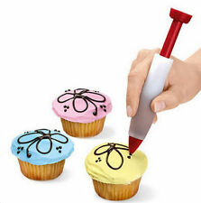 New Silicone Cake Decorating Syringe Cookie Pastry Cream Chocolate Plate Pen