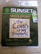 """Sunset Designs  """"Lord Is My Sheperd"""" Embroidery Kit #5723"""
