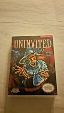 Uninvited - NES Custom Art Case/Box (No Game)