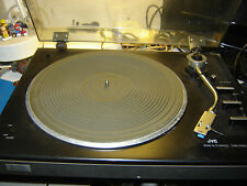 Japanese quality JVC JL A15 turntable needs belt and stylus for restoration