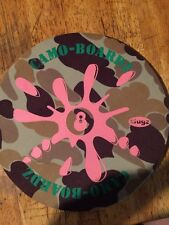 Pogs Slugz camo Boardz slam mat Pink 8 Ball Splattered