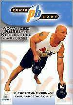 POWERBODY: ADVANCED RUSSIAN KETTLEBALL WORKOUT (Phil Ross) - DVD - Region Free