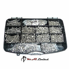 4330pcs M3 ASSORTED BOLTS NUTS AND WASHERS KIT SET A2 STAINLESS STEEL DIN 933