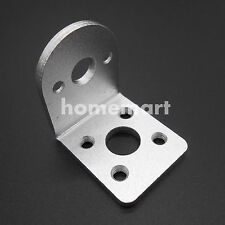 Aluminum 25mm gear Motor Fixed Retention Mounting Bracket  permanent seat White